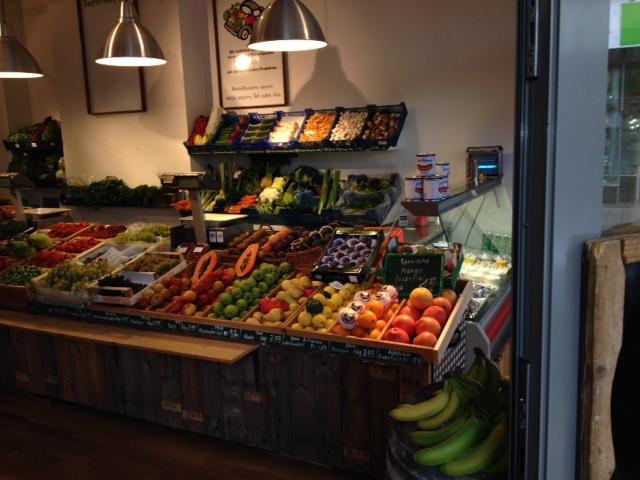 Gemüsemichel Obsttheke