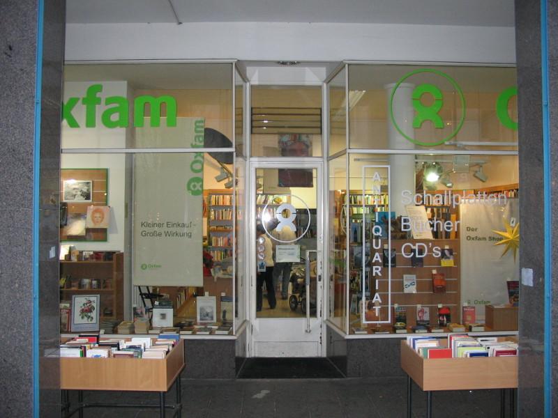 Oxfam Buchshop Schulstrasse Darmstadt