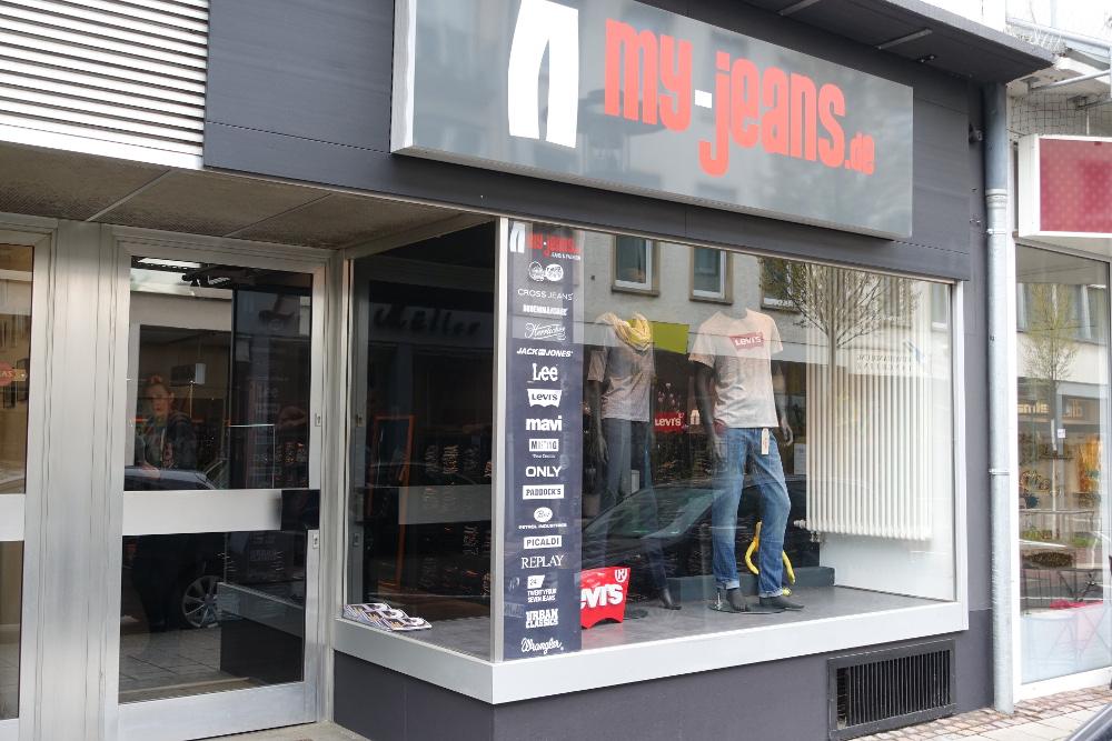 My-Jeans Darmstadt Außenansicht