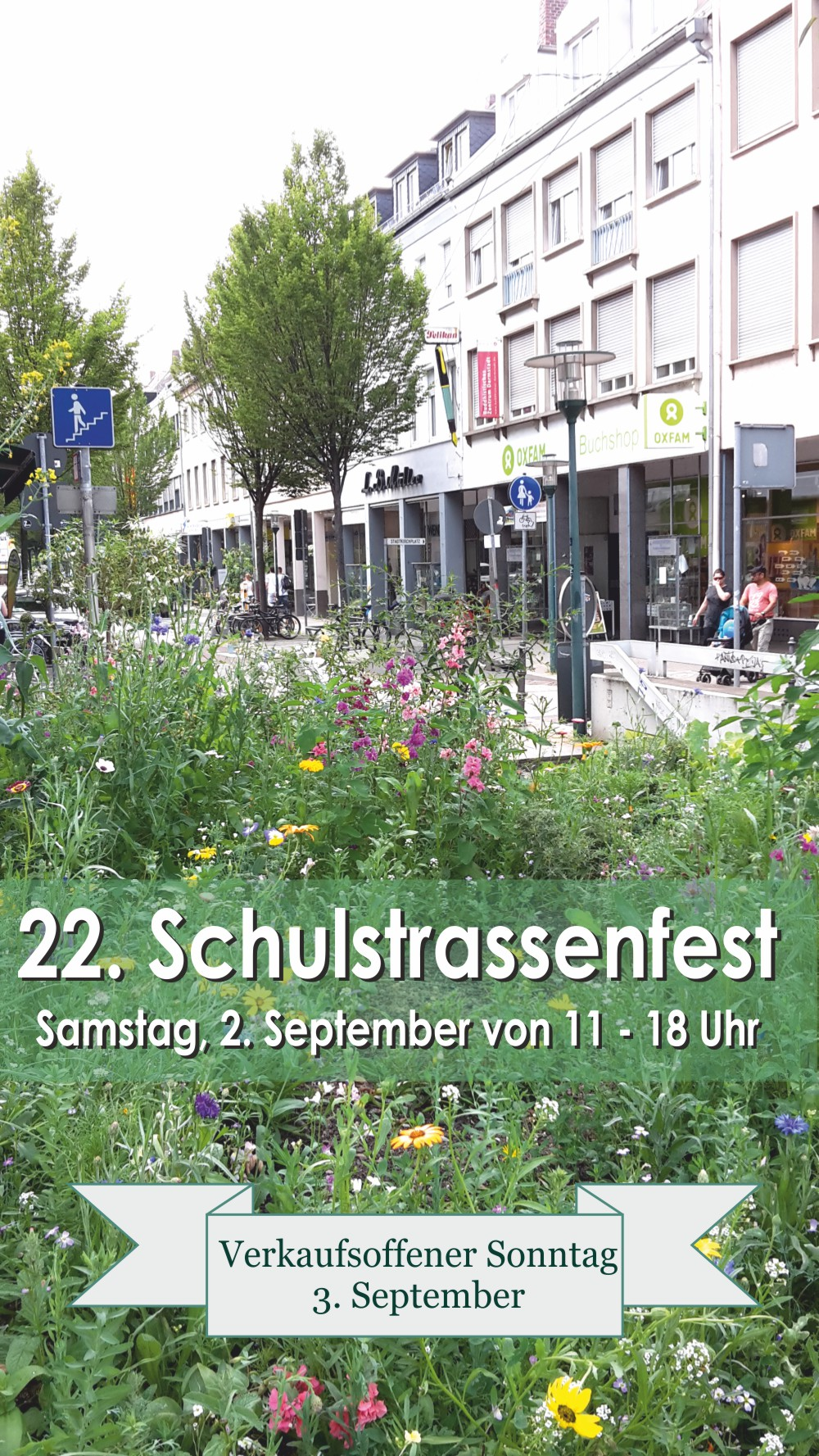 Schulstrassenfest am 2. September 2017