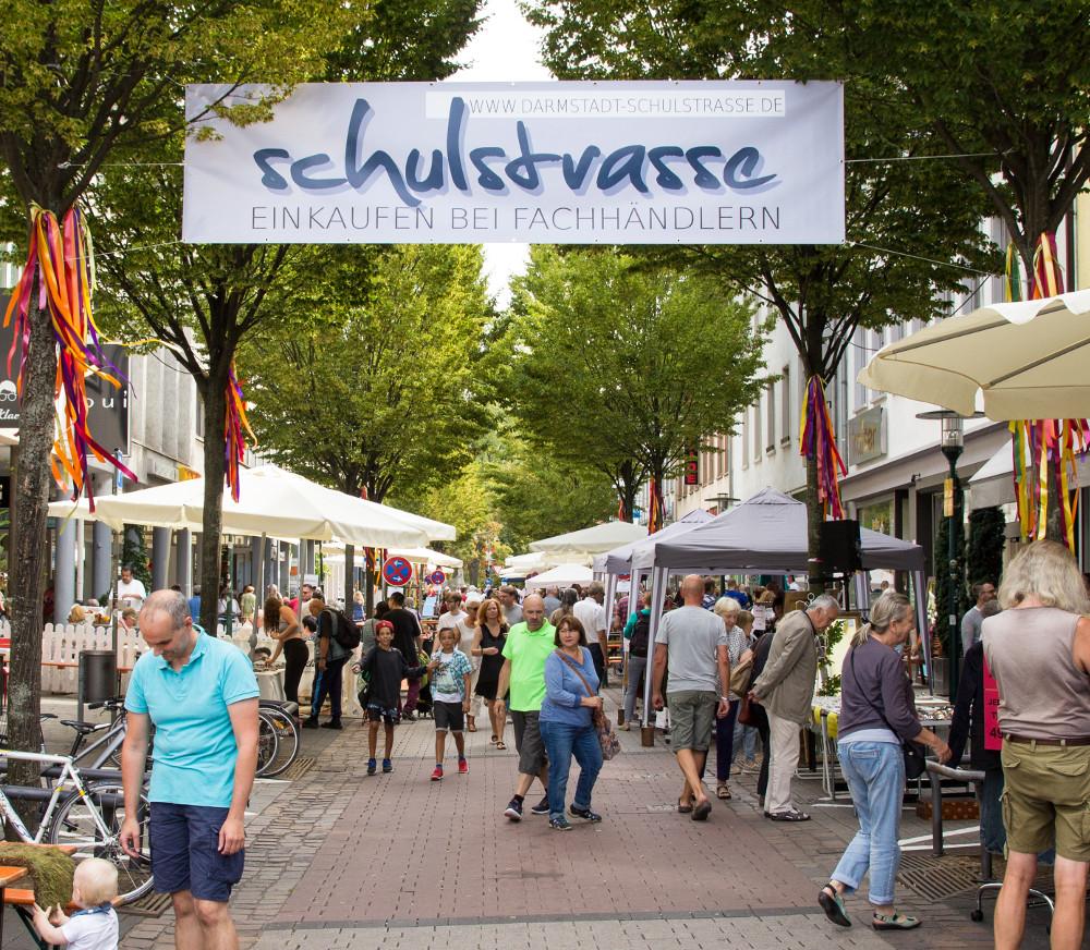Foto vom Schulstrassenfest